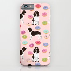 English Springer Spaniel donuts funny dog gifts perfect for spaniel owner pet portraits iPhone 6s Slim Case