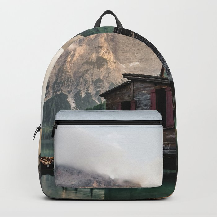 Lago di Braies Backpack