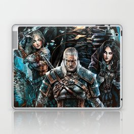 The Witcher Wild Hunt Laptop & iPad Skin
