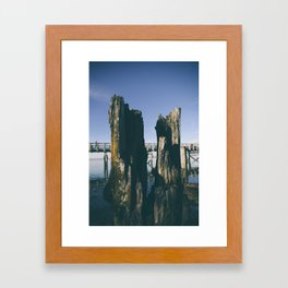 Pillars Framed Art Print