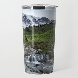 Edith Creek and Mount Rainier Travel Mug