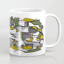Sketched Web Coffee Mug
