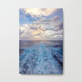 Voice of the Sea Metal Print
