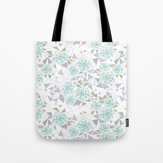 Modern . Geometric pattern . Rose .2 Tote Bag