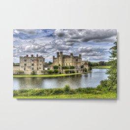 Leeds Castle And Moat Metal Print