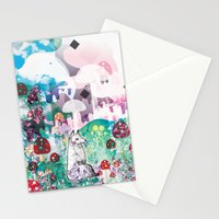 Wonder World Stationery Cards