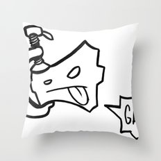 c-clamp champ Throw Pillow