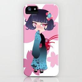 Hina Fleur iPhone Case