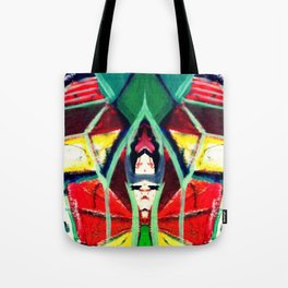 In the Mirror Tote Bag