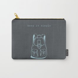 Simple living Carry-All Pouch