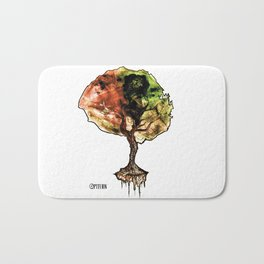 A Tree of Life Bath Mat