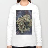 medical Long Sleeve T-shirts featuring Medical Marijuana Deep Sleep by BudProducts.us