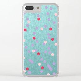 Tutti-fruity Clear iPhone Case