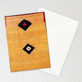 Qashqa'i Fars Southwest Persian Kilim Print Stationery Cards
