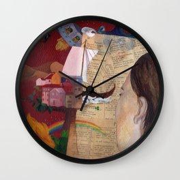Literatura Wall Clock