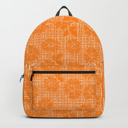 Floral Lace - Tangerine Backpack