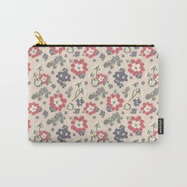 Succulent Pink Carry-All Pouch