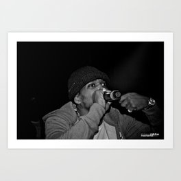 Live from New Jet City: Curren$y pt. 3 Art Print