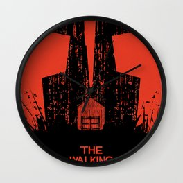 The Walking Dead. Wall Clock