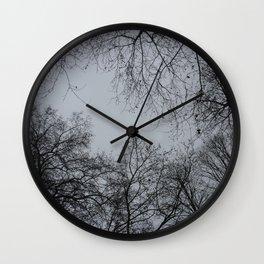 Sky Veins Wall Clock