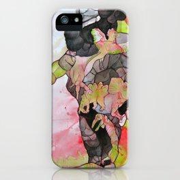 Dino-man iPhone Case