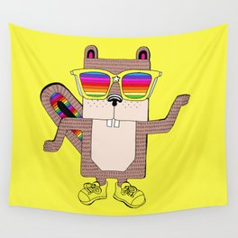 Ricky rainbow glass collection Wall Tapestry