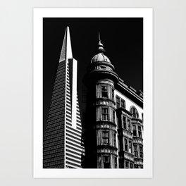 Trans America/Sentinel Art Print