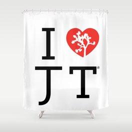 I love Joshua Tree by CREYES Shower Curtain