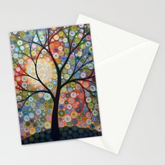 Waiting For the Moon Stationery Cards