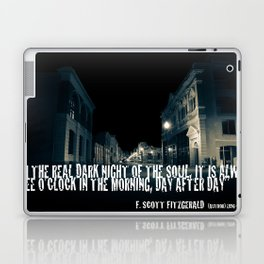 In the Real Dark Night Laptop & iPad Skin