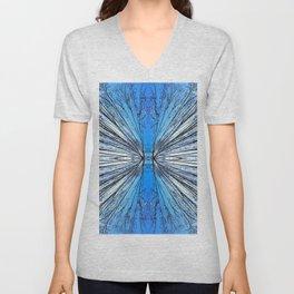 174 - Tree abstract design Unisex V-Neck