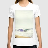 surfboard T-shirts featuring Surfboard by wowpeer
