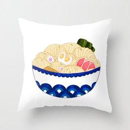 Ramen Deliciousness Throw Pillow