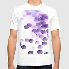 Negative reactions Mens Fitted Tee MEDIUM White