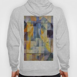 "Robert Delaunay ""Simultaneous Windows onto the City"" (1st Part, 2nd Motif, 1st Replica) Hoody"