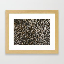 Coffee beans in Colombia Framed Art Print