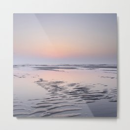 Tropical sunset Texel   Travel photography Netherlands    Metal Print