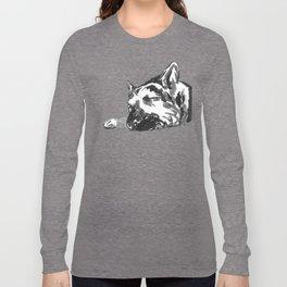 German shepherd -1 Long Sleeve T-shirt