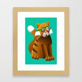 Pirate Kittens - Mr Jab Framed Art Print