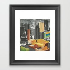 The City As Home 2 Framed Art Print