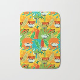 Watermelons and carrots Bath Mat
