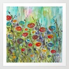 Klimt Inspired Art Print