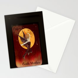 FAERIE GOTH MOTHER - 033 Stationery Cards