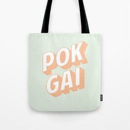 POK GAI Tote Bag