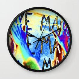 LOVE MADLY Wall Clock