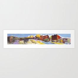 Urban Panorama I Art Print