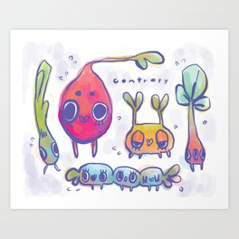 beast garden Art Print