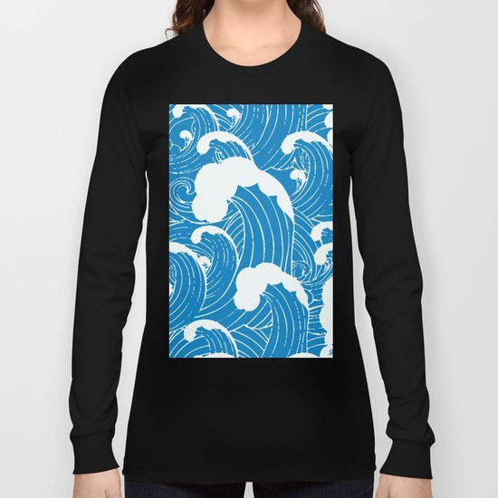 waves after waves Long Sleeve T-shirt