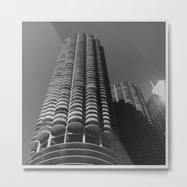 Marina Towers Metal Print