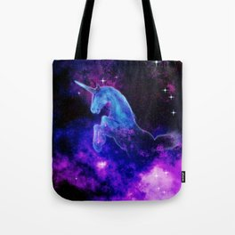 Cosmic Unicorn Tote Bag